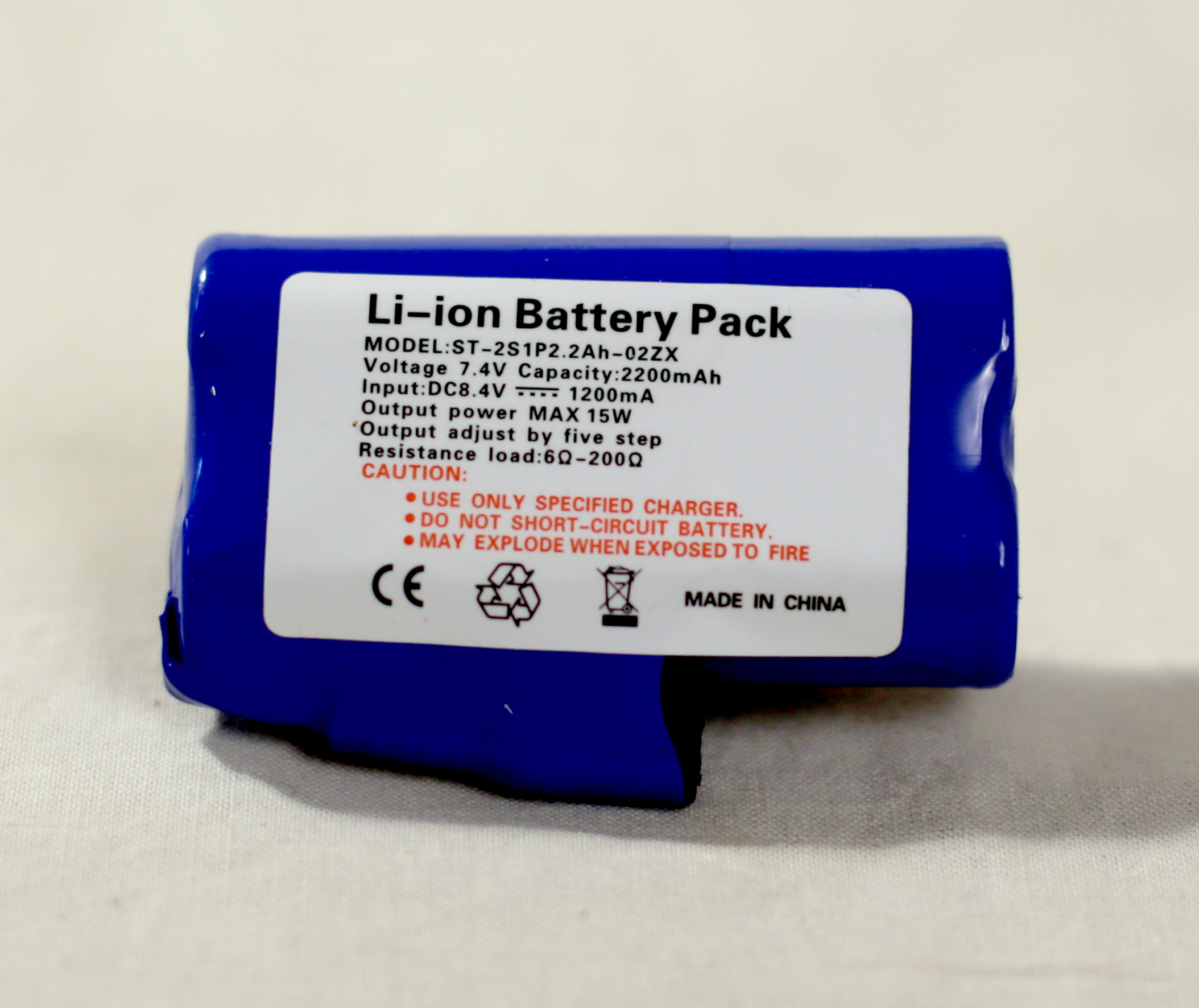 Thermal hoop 380 Li-ion battery